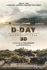 D-Day: Normandy 1944 3D Movie Poster