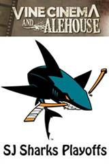 San Jose Sharks Playoffs Movie Poster