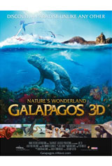 Galapagos 3D: Nature's Wonderland Movie Poster