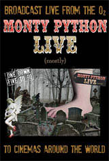 Monty Python Live (mostly) Movie Poster