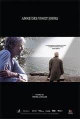Anne des vingt jours Movie Poster