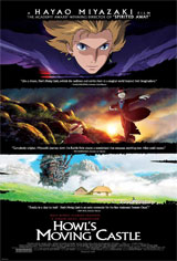 Howl's Moving Castle (Dubbed) Movie Poster