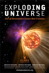 Exploding Universe Poster