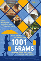 1001 Grams Movie Poster
