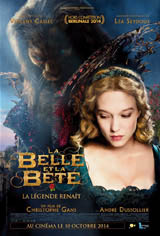 La belle et la bête Movie Poster