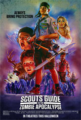 Scouts Guide to the Zombie Apocalypse Movie Poster
