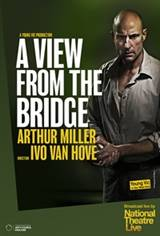 Young Vic: A View from the Bridge Movie Poster