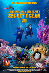 Jean-Michel Cousteau's Secret Ocean 3D Movie Poster