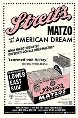 Streit's: Matzo and the American Dream Movie Poster