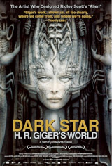 Dark Star: H.R. Giger's World Movie Poster