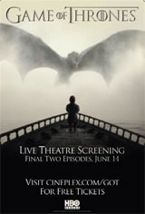 Game of Thrones Season 5 Finale Fan Event Movie Poster