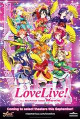 Love Live! The School Idol Movie Movie Poster