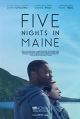 Five Nights in Maine Movie Poster