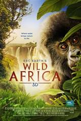 Wild Africa 3D Movie Poster