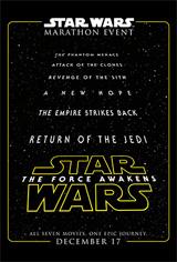 Star Wars Marathon Movie Poster