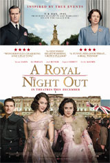 A Royal Night Out Movie Poster