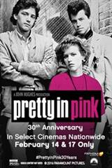 Pretty in Pink 30th Anniversary Movie Poster