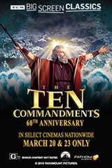 TCM Presents The Ten Commandments (1956) Movie Poster