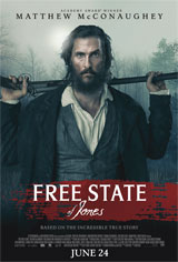 Free State of Jones Movie Poster