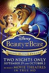 Beauty and the Beast: The Sing-Along Movie Poster