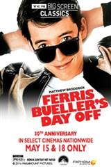 TCM Presents Ferris Bueller's Day Off (1986) Movie Poster