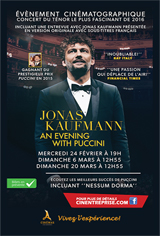 Jonas Kaufmann: An Evening with Puccini Movie Poster