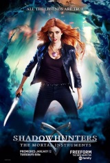 Shadowhunters: The Mortal Instruments (Netflix) Movie Poster