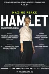 Maxine Peake as Hamlet Movie Poster