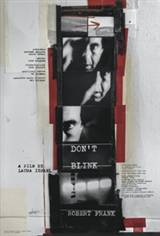 Don't Blink - Robert Frank Poster