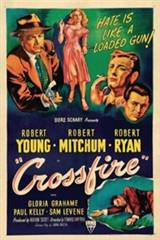 Crossfire (1947) Movie Poster