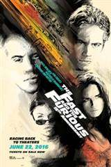The Fast and the Furious - 15th Anniversary Movie Poster