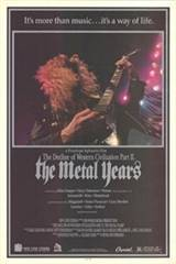 The Decline of Western Civilization: Part II - The Metal Years Movie Poster