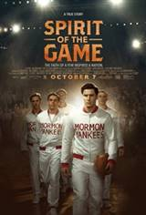 Spirit of the Game Poster