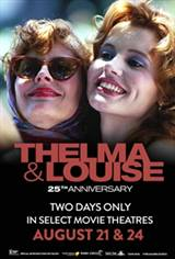 Thelma & Louise 25th Anniversary Movie Poster