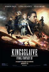 Kingsglaive: Final Fantasy XV Movie Poster