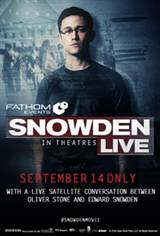 Snowden Live Movie Poster
