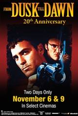 From Dusk Till Dawn 20th Anniversary Movie Poster