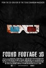 Found Footage 3D Movie Poster