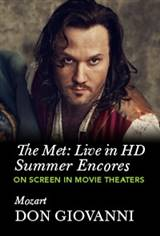 Met Summer Encore: Don Giovanni Movie Poster