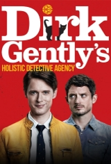 Dirk Gently's Holistic Detective Agency (Netflix) Movie Poster Movie Poster