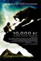 10,000 B.C. Movie Poster