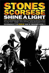 Shine a Light Movie Poster
