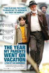 The Year My Parents Went on Vacation Movie Poster