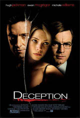 Deception Movie Poster