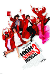 High School Musical 3: Senior Year Movie Poster
