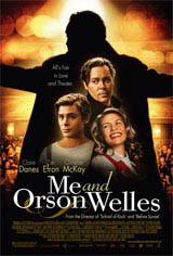 Me and Orson Welles Movie Poster