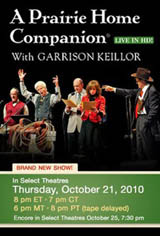 A Prairie Home Companion: Live in HD Movie Poster