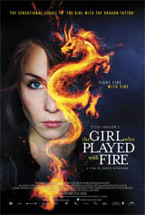 The Girl Who Played With Fire Movie Poster