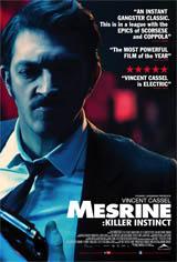 Mesrine: Killer Instinct Movie Poster