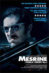 Mesrine: Public Enemy No. 1 Movie Poster